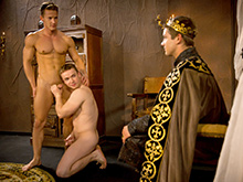 Darius Ferdynand , Gabriel Cross and Johnny Rapid