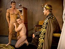 Darius Ferdynand , Gabriel Cross and Johnny Rapid
