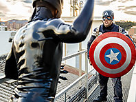 Captain America : A Gay XXX Parody Part 2