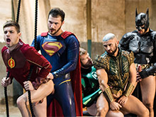 Justice League Xxx Porn Parody