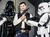 Dennis West and Vader