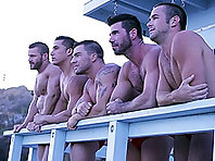 Billy Santoro , Braden Charron , Landon Conrad , Mike De Marko and Topher Di Maggio