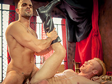 Christopher Daniels and Damien Crosse