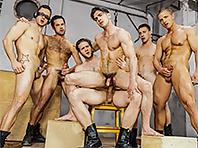 X-Men : A Gay XXX Parody Part 4 with Brenner Bolton , Colby Keller , Landon Mycles , Mike De Marko ,