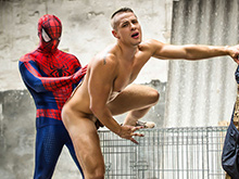 Spiderman : A Gay XXX Parody Part 2