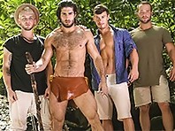 Colton Grey, Diego Sans, Luke Adams and Tobias