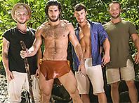 Colton Grey, Diego Sans, Luke Adams and Tobias